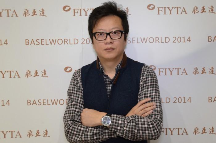 专访飞亚达设计总监孙磊(转自万表)